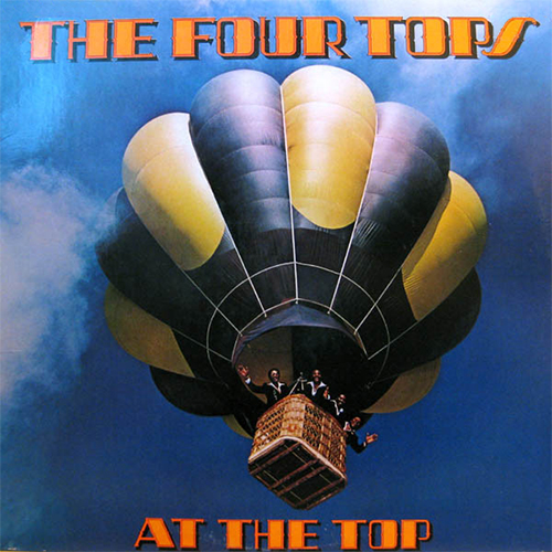 Black to the Music - The Four Tops - LP 23-1978 At The Top