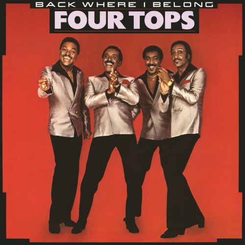 Black to the Music - The Four Tops - LP 26-1983 Back Where I Belong