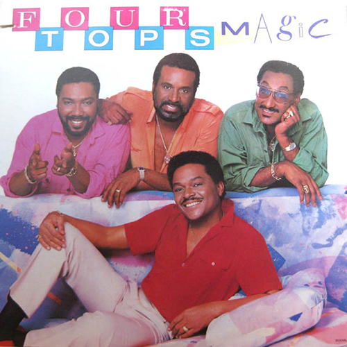 Black to the Music - The Four Tops - LP 27-1985 Magic