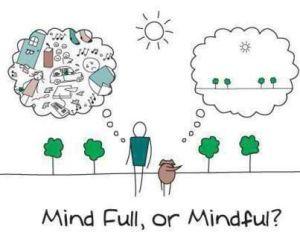 Mental ellness is being present