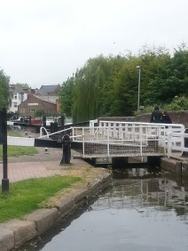 Town lock in Retford