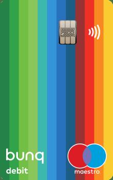 Der NFC Chip der neusten Generation und ein extrem farbiges Design zeichnet auch die Bunq Maestrocard aus. Da viele Händler in Deutschland die Kreditkarten nicht akzeptieren, aber Girocard in Verbindung mit Maestro oder VPay schon, kann dies weiter helfen in unserem in Zahlungsverkehr rückständigen Land.