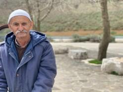 Am Rand der Strasse 98 - Die ursprünglichen Bewohner des Golan sind Araber.