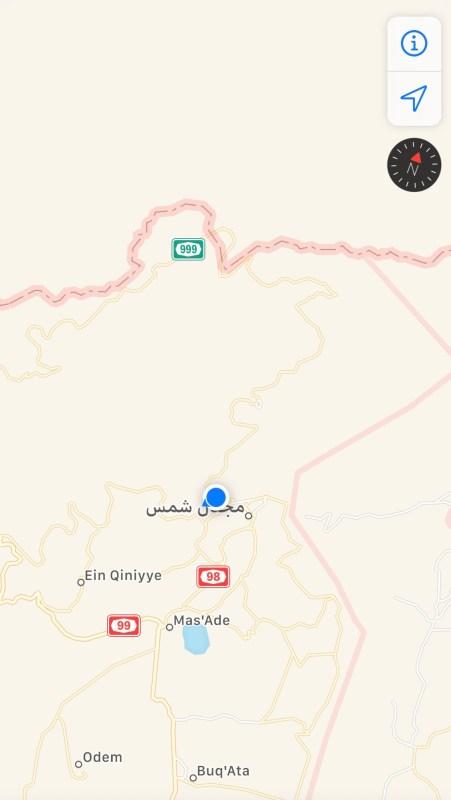 Die nordöstlichste Gegend der Golanhöhen ist eindeutig arabisch geprägt.