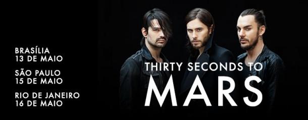 Blackwater Viagens » 30 Seconds To Mars (são Paulosp