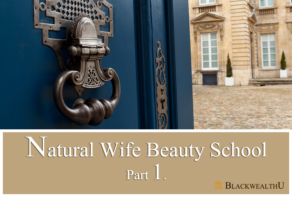WATCH PARTY : Natural Wife Beauty School Part 1.