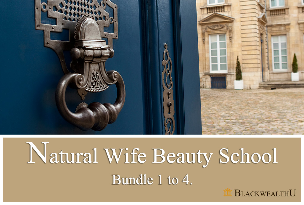WATCH PARTY : Natural Wife Beauty School (Bundle 1 to 4).