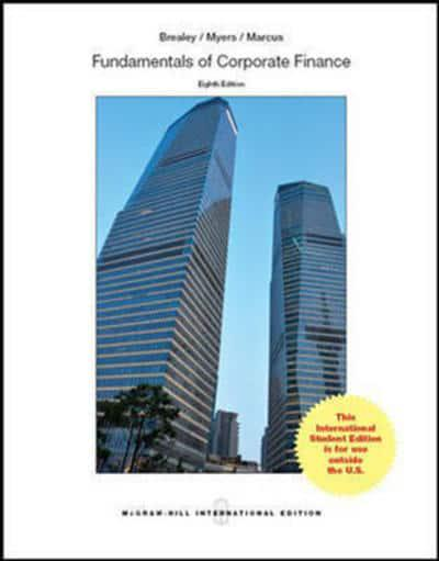 Fundamentals of Corporate Finance : Richard A Brealey