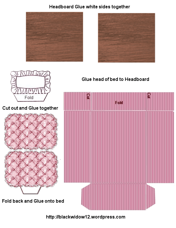 fold out sofa bed rattan round table dining set paper crafts – playsets and tales fromthe majestic red oak ...