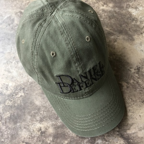 Official Daniel Defense Baseball Cap Hat New Velcro Adjustable OD Green 14- 044-00056-013 7a12c97b166c