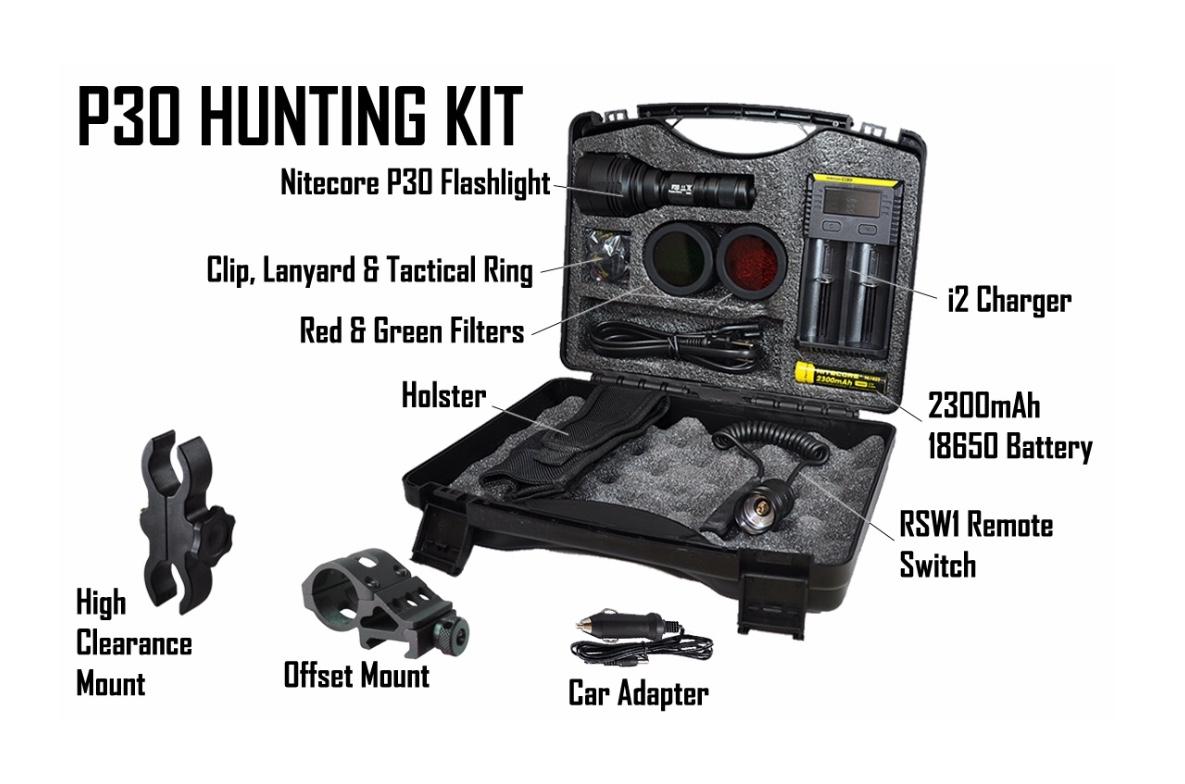 Nitecore P30 Lumen Xp L Hi V3 Led Flashlight Hunting