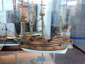 Model of the Susan Constant 1607