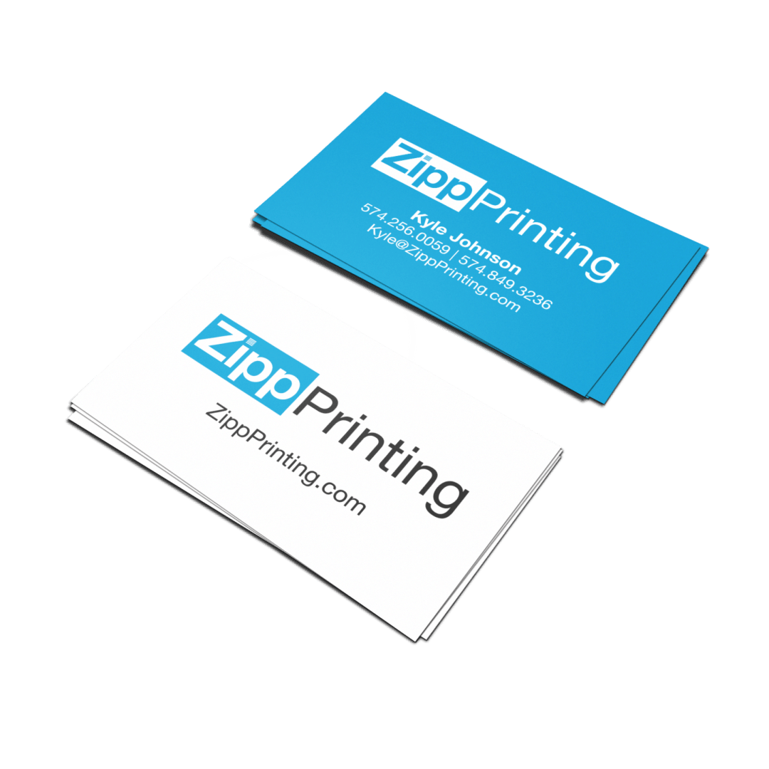Zipp Printing Business Cards