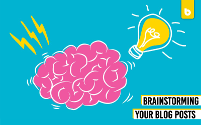 Brainstorming Your Blog Posts