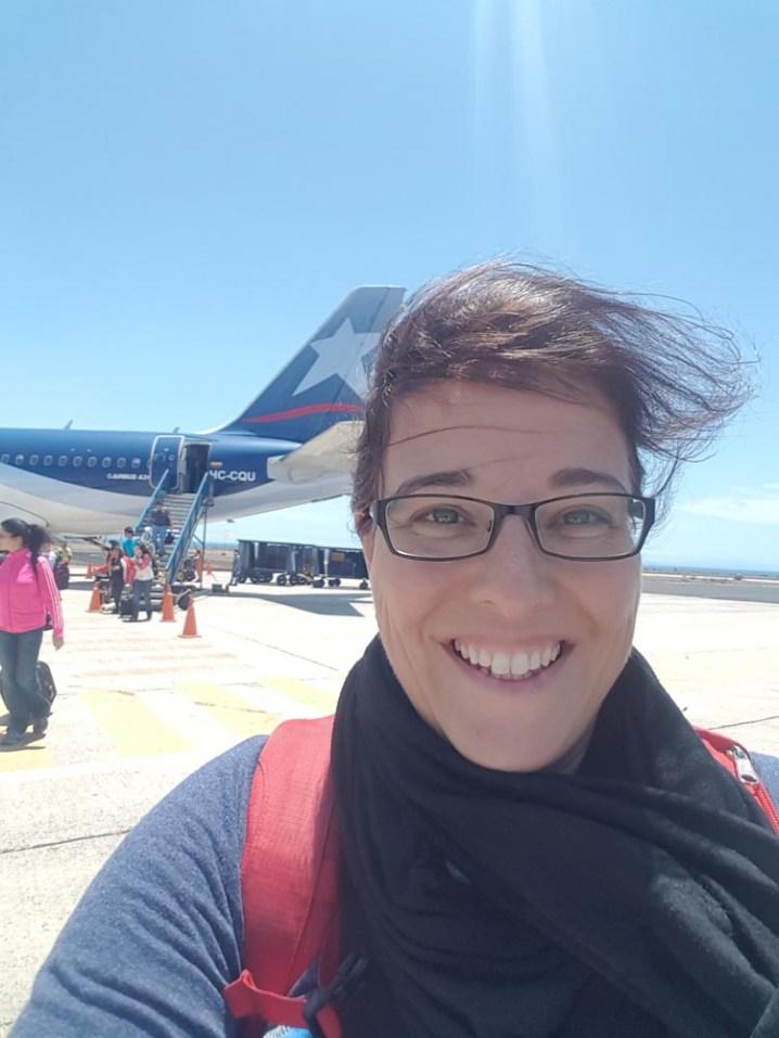 Windige Begrüssung auf Galapagos