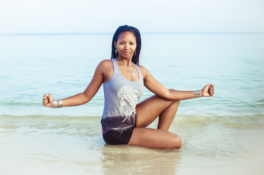 Eternity Philops in Pose of Immortality, Kemetic Yoga