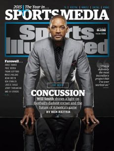 Concussion Sports Illustrated Cover