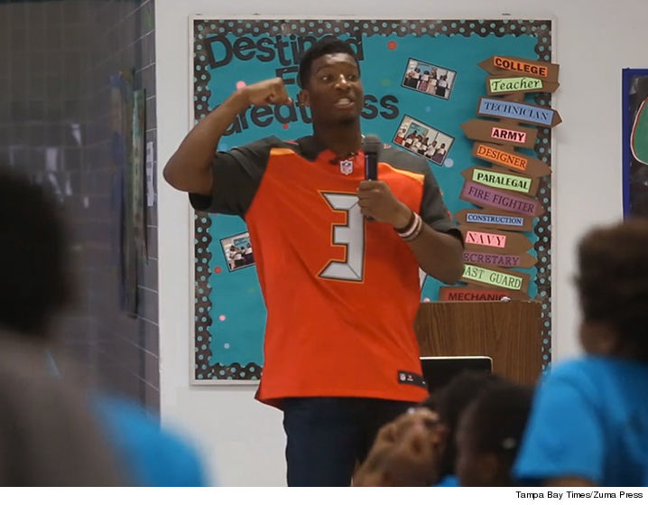 Jameis Winston Gives Sexist Speech To Kids, Tells Girls to be 'Silent'
