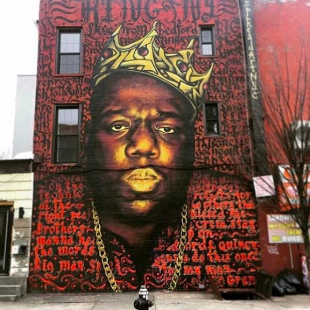 Landlord set on destroying iconic Biggie Smalls mural in Brooklyn