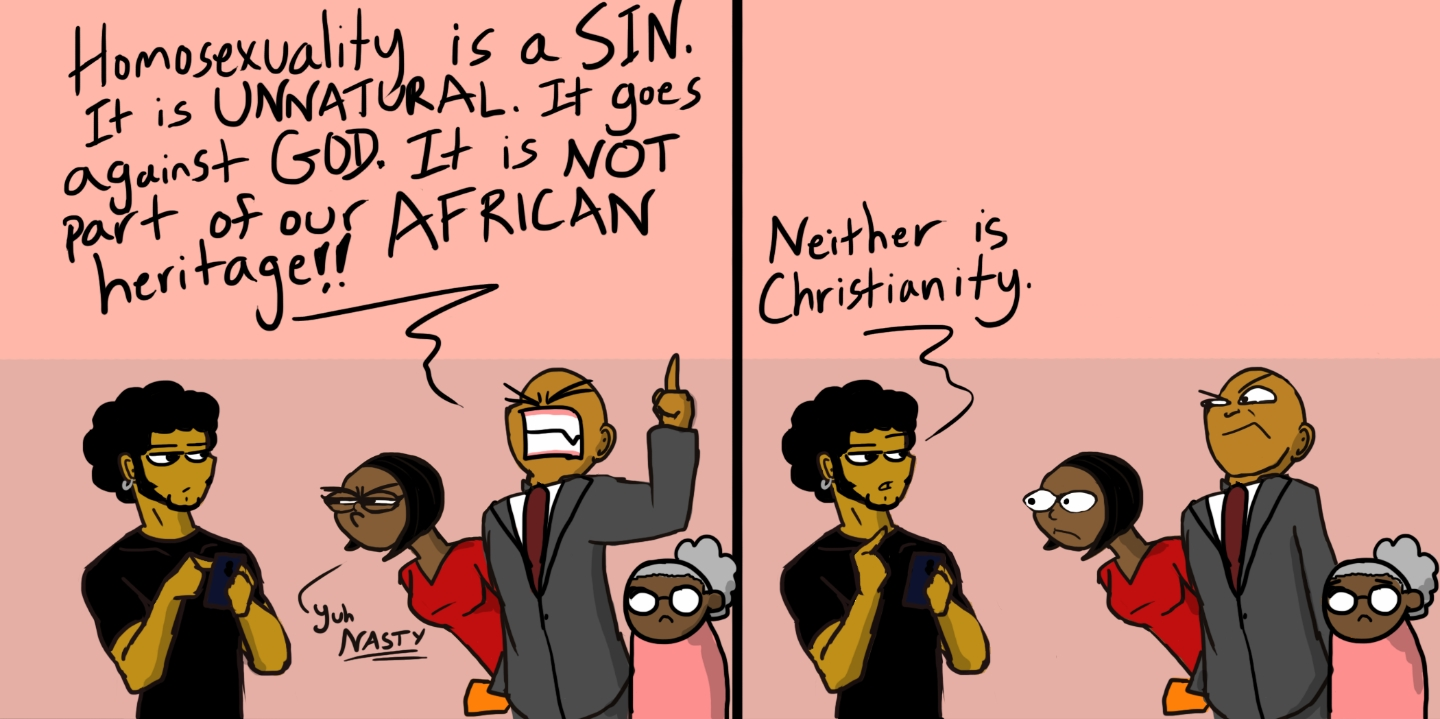 Difference between homophobia and homosexuality in christianity
