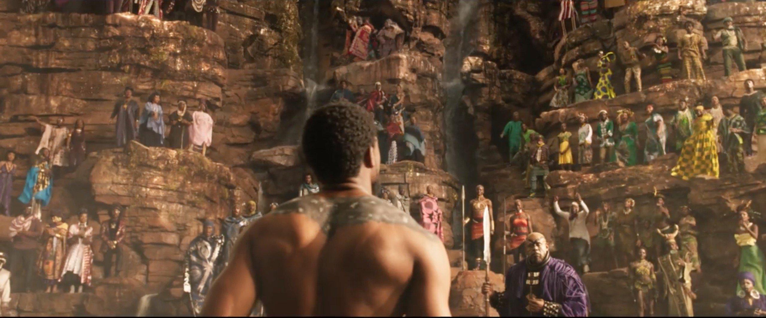 Resultado de imagen para Black Panther pelicula wakanda
