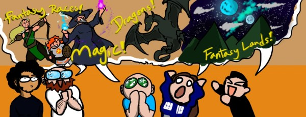 Comic: Stop pretending there's no room for people of color in the fantasy realm