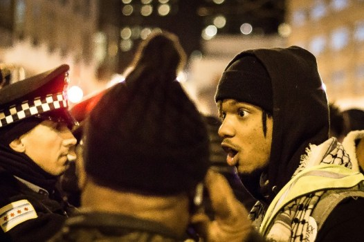 Chicago erupts in protest following the shooting of a Black man by Chicago PD