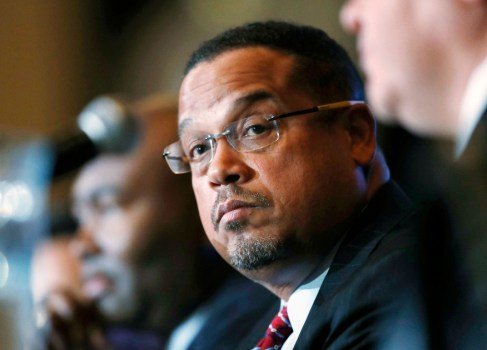 Keith Ellison wins Democratic nomination for MN attorney general despite abuse allegations