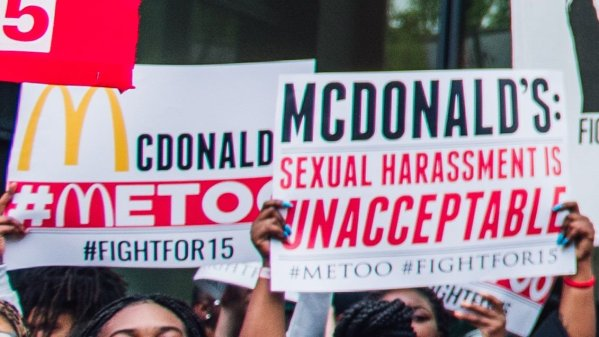 #MeToo is not just for Hollywood: McDonald's workers strike in 10 U.S. cities to protest sexual harassment