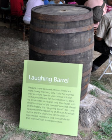 """Laughing barrels"" and the defiant spirit of Black laughter"