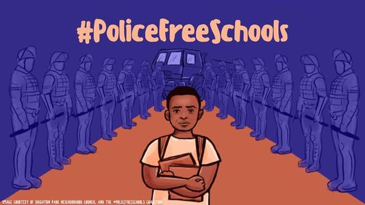 Police-Free schools are necessary, as is abolishing the white supremacist state they are rooted in