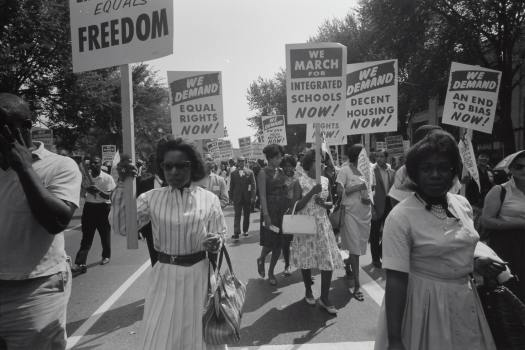 "The myth of ""progress"" helps to obscure the truth—we are still marching for civil rights"