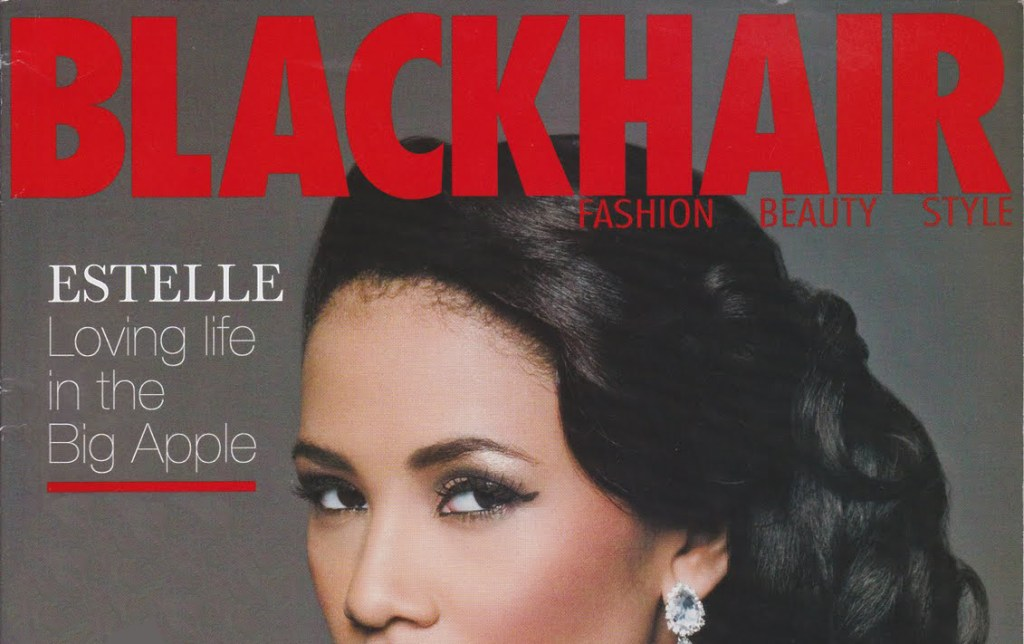 Blacticulate on Black Hair website