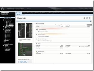 PowerEdge VRTX - CMC Screenshot