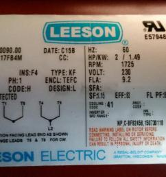 leeson motor wiring diagram [ 1200 x 675 Pixel ]