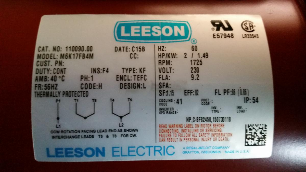 220v plug wiring diagram chevy blazer a 2hp electric motor - tools and tool making bladesmith's forum board