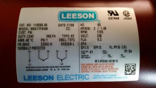 small resolution of leeson motor wiring diagram