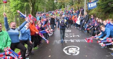 Sykkel VM i Bergen på godt og vondt
