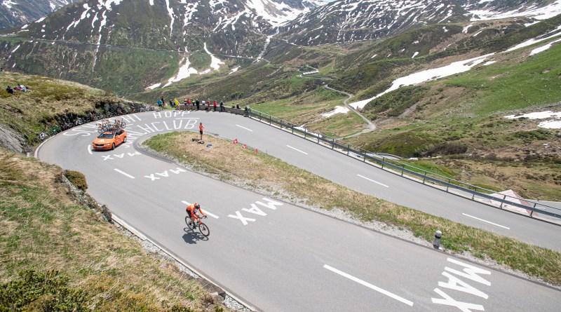 En meget tøff tempo etappe i Sveits Rundt