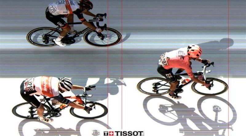 Dansk seier på dagens etappe