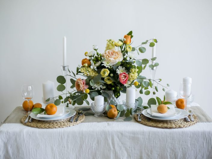 Citrus Stylized Shoot | Wedding
