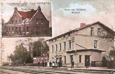 Der alte Bahnhof von Wolittnick