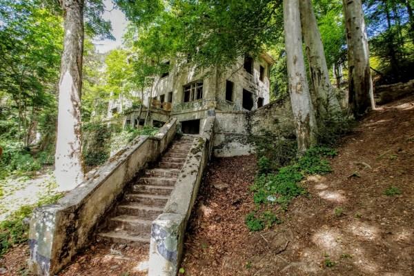 Skriven od pogleda, usred najljepše šume, stajao je Brestovac, mjesto ljubavi, smrti i nade u kojem su planirali atentate i pisali romane