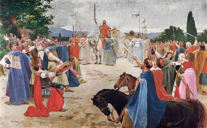 Na današnji dan prije 745 godina održan je prvi dokumentirani Hrvatski sabor i odmah regulirao pitanje narodnog ustanka