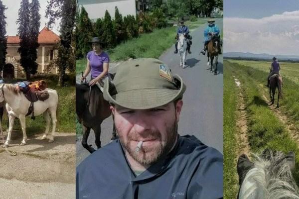 Konjička družba Blaga & misterija trenutno jaše, sretnete li ih, mahnite jer oni stazama prošlosti jašu za budućnost