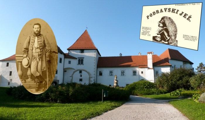 """""""Kume, uzdaj se u se i u svoje kljuse!"""" pisalo je tog proljeća u Podravskom ježu, prvom humorističnom listu na hrvatskom"""