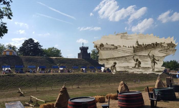Od stare Koprivnice jedva da ostade kamen na kamenu, ali ipak, tragovi te moćne utvrde nalaze se na neočekivanim mjestima