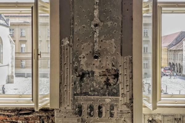 Razotkrivamo tajnovite freske iz Banskih dvora: na njima je drevni Zagreb, stara katedrala ali i dvorci udaljeni kilometrima