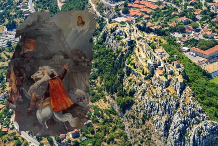 Predaje o bitkama oko Klisa spominju zaboravljeni dvoboj Kružićeva paža Miloša i gorostasnog Turčina Bakote