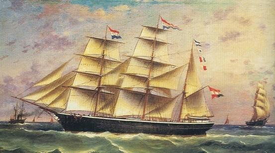 Jedna slika i spisi svjedoče o Trojednici, ponosnom, a izgubljenom jedrenjaku koji je bio među najljepšima na Jadranu